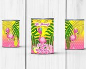 Flamingo Party, Lets Flamingle Birthday Party, Flamingo Favors, Flamingo Chip Bag, Flamingle Chip Bag, Flamingo Digital, Flamingos, Pringles