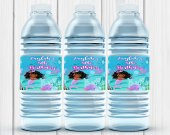 Mermaid Party , Mermaid Labels, Mermaid Birthday Party, Mermaid Water Bottle Labels, Mermaid, Water Bottle, Digital