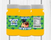 Puppy Dog Pals Bubbles Label, Puppy Dog Pals Birthday, Puppy Dog Pals Party Favors, Custom Bubbles Label, Digital or Printed and Shipped