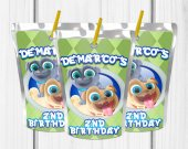 Puppy Dog Pals Birthday Party, Puppy Dog Pals , Custom Capri Sun, Puppy Dog Pals Favor, Decor, 1st Birthday