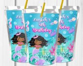 Mermaid Party , Mermaid Juice Labels, Mermaid Birthday Party, Mermaid Juice Labels, Mermaid, Digital