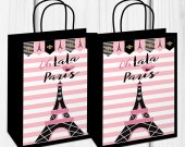 Paris Birthday Party, Paris Gift Bag, Paris Treat Bag, Paris Baby Shower, Paris Sweet 16, Paris Party Favors, Paris Party Decor, Digital