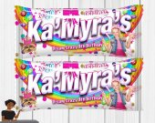 Jojo Siwa Candy Labels-Skittles, Jojo Siwa Birthday Party, Jojo Siwa Party Favors, Jojo Siwa Party, Skittles Label