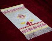 Hanging Wall Amulet for Home - Slavic - Lada - Belobog - Linen