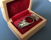 2mm pinfire Ring-gun 6-shot cylinder Revolver