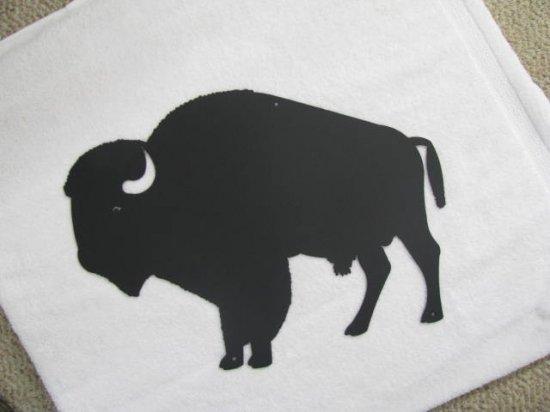 Buffalo Metal Wall Art Silhouette