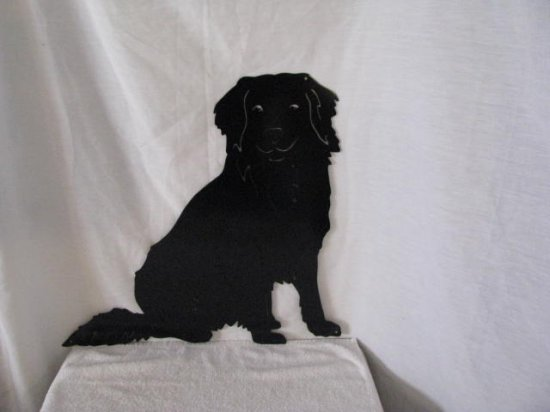 Nova Scotia Duck Tolling Retriever M Metal Wall Yard Art Dog Silhouette