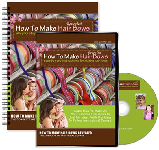 How To Make Hair Bows Revealed Step By Step Instructions For