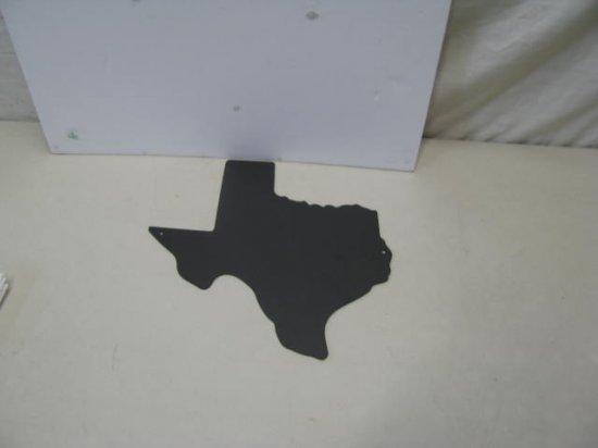 State of Texas Western Metal Art Silhouette