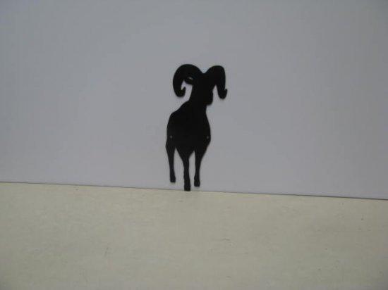 Ram 009A Metal Art Silhouette