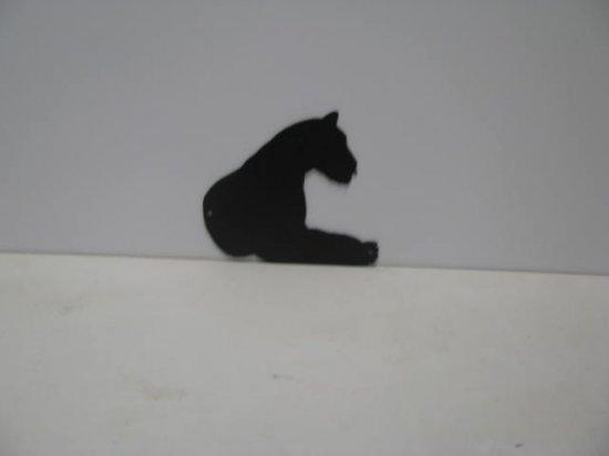 Tiger 005 Wildlife Metal Art Silhouette