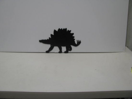 Dinosaur 025 Metal Wall Yard Art Silhouette