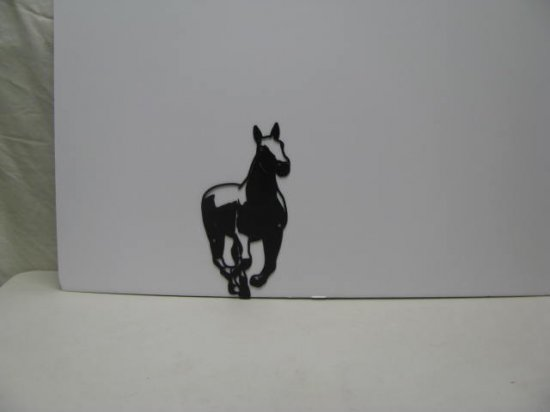Horse 055 Western Metal Wall Yard Art Silhouette