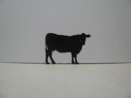 Cow 024 Western Metal Wall Yard Art Silhouette