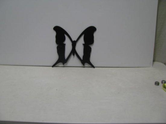 Butterfly 062 Metal Wall Yard Art Silhouette