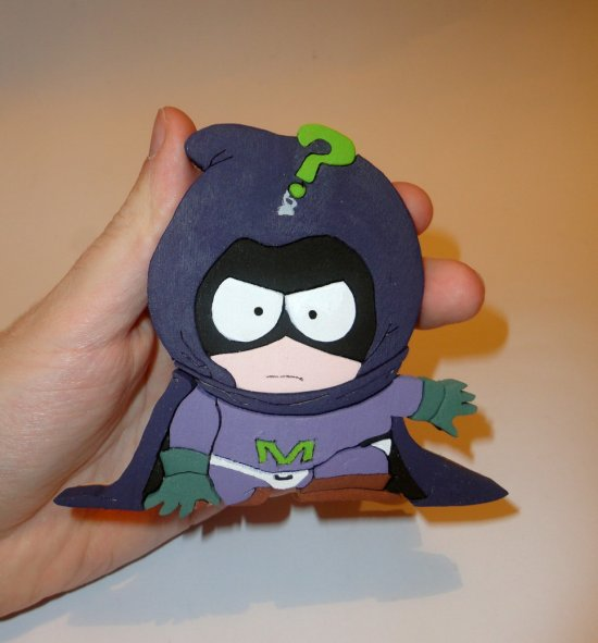Handmade Mysterion South Park Figure