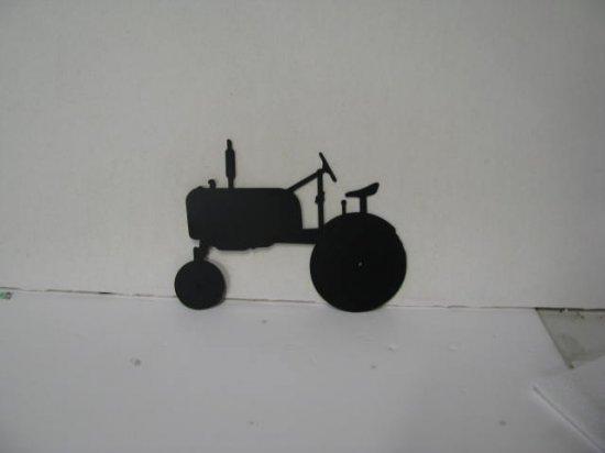 Tractor Farmall Cub Metal Wall Yard Art Silhouette