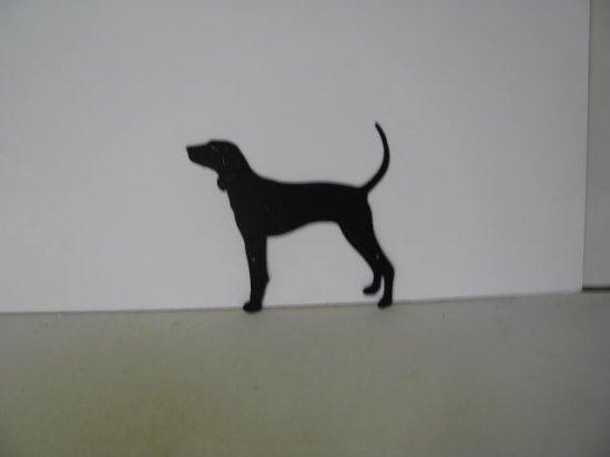 American Coonhound Metal Wildlife Wall Yard Art Silhouette