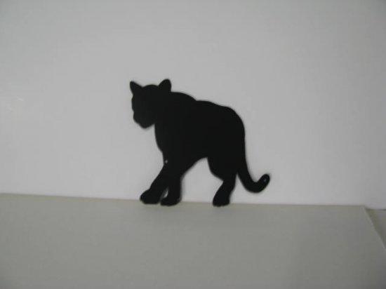 Cougar 006 Metal Wall Yard Art Silhouette