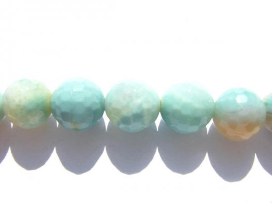 2strands 6 8 10 12mm fire agate  gemstone  round ball faceted dark green  white assortment jewelry beads 10mm