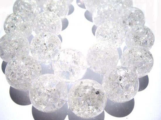 high quality  white quartz beads, 4mm 5strands 16inch strand,round ball  cracked crystal gergous jewelry beads