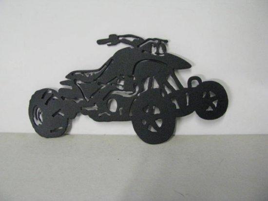 Banshee Drag 003 Metal Art Silhouette