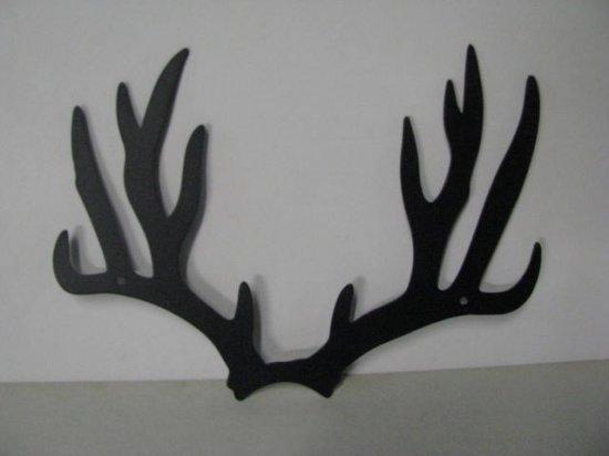 Deer Horns 298 Western Metal Wall Art Wildlife Silhouette