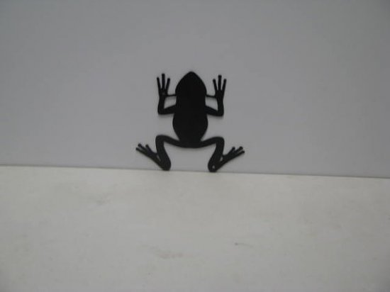 Tree Frog 001 Metal Art Silhouette