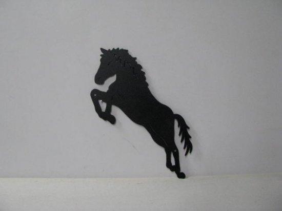 Horse 201 Large Jumping Farm Metal Art Silhouette