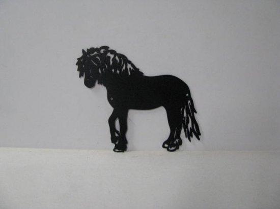 Draft Horse 005 Large Walking Farm Metal Art Silhouette