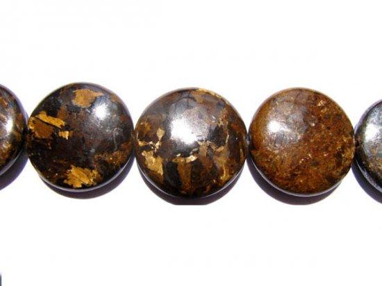 bulk natural bronzite gergous  10mm 5strands 16inch strand,roundel disc golden jewelry beads