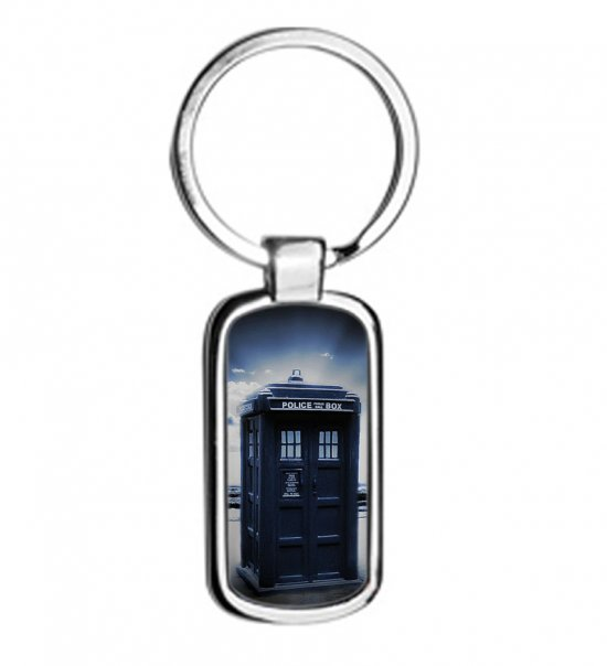 Doctor Who Metal Keyring Keychain