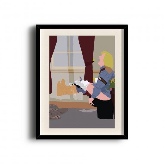 Dumb and Dumber minimalist poster, Dumb and Dumber digital art poster