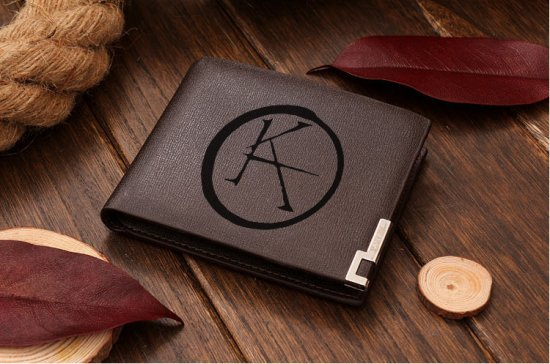 Ka Symbol The Dark Tower Leather Wallet On Craftisart