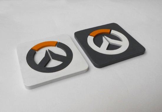 Handmade Overwatch coaster