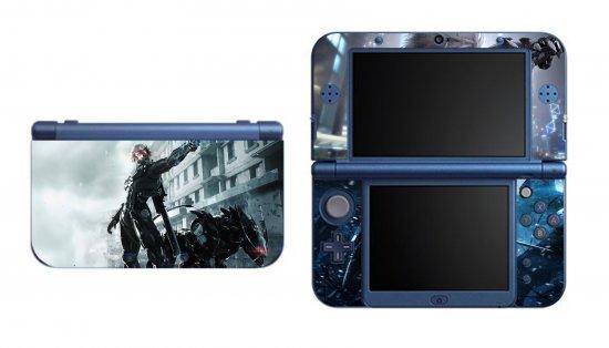 Metal Gear Rising Raiden NEW Nintendo 3DS XL LL Vinyl Skin Decal Sticker