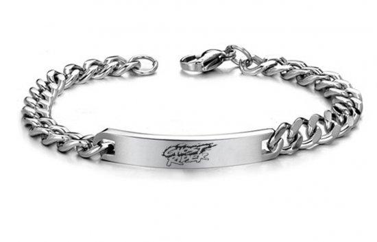 Ghostrider Stainless Steel Bracelet