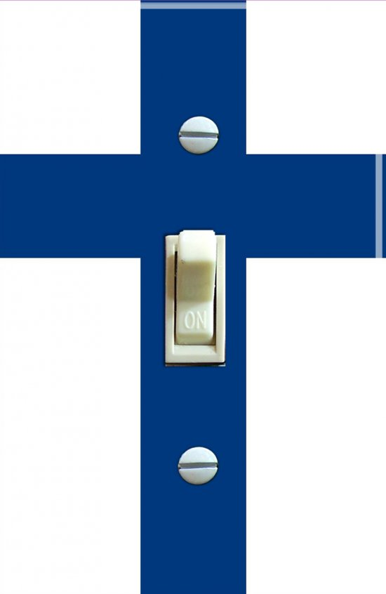 FINLAND Flag Single Switch Plate