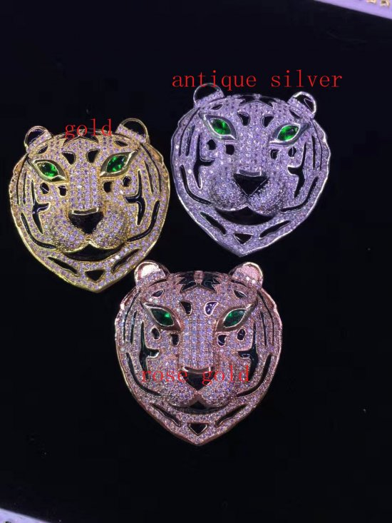 2pcs 60-80mm  Micro Pave Diamond paved Clasps Jewelry findings Micro Pave fluorial  lempord  oval crown Brass  pendant