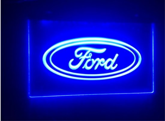 tr02 Ford car beer bar pub club 3d signs LED Neon Light Sign