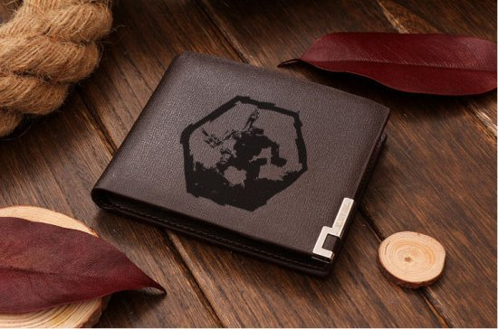 Leather Wallet  Mech Warrior