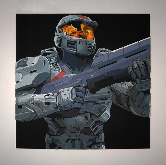 Handmade Halo Wars, Halo Wars wall art