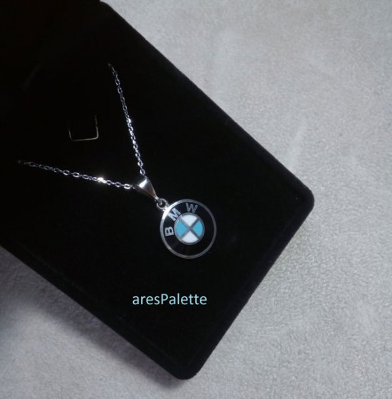 BMW Necklace.925 Silver BMW Necklace