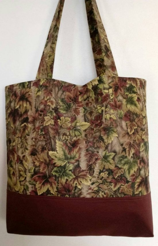 The Woods Large Brown Tote