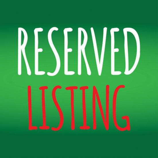 Reserved for: RRRIV