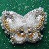 Brooch Gold/silver butterfly