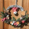 Christmas Wreaths, Door Wreath, Wall Decor, Handmade Wreath, Eco
