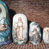 Easter - Nativity Nesting Doll /The thematic matryoshka (wooden doll/art doll) about Christ
