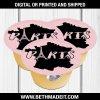 Paris Birthday Party, Paris Applesauce Label, Paris Baby Shower, Paris Sweet 16, Paris Party Favors, Paris Party Decor, Juice Label, Digital