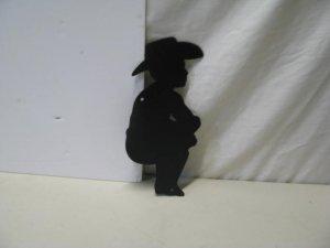 Cowboy 0059 Western Metal Art Silhouette